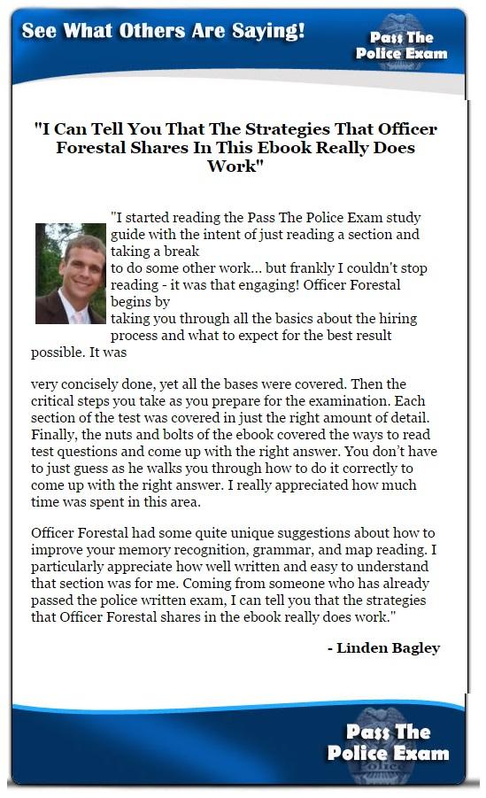 Police Test Guide | Police Officer Test
